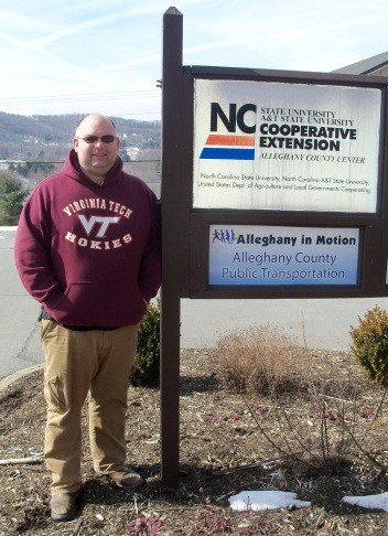 NC Cooperative Extension Agent Aaron Ray Tompkins