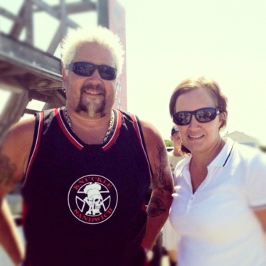 Guy Fieri and Laura Murden