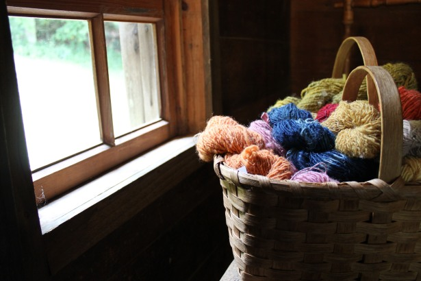 Home spun yarns