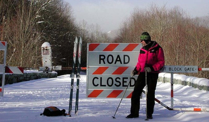 Ski-parkway