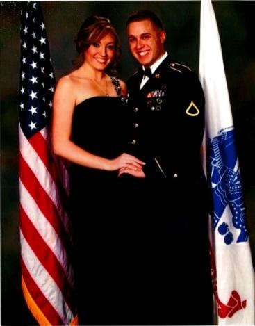 Sarah military ball